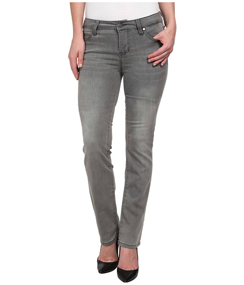 Liverpool - Shades of Grey Sadie Straight (Ashland Grey) Women's Jeans