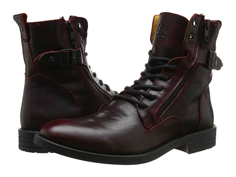 GBX - Trust-57683 (Burgundy) Men's Zip Boots