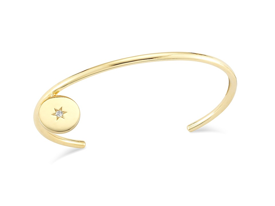 Elizabeth and James - Polaris Bangle Bracelet (Yellow Gold) Bracelet