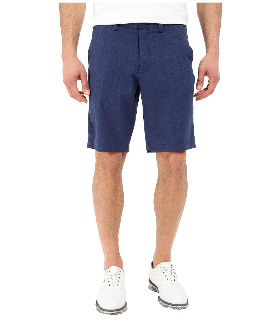 Under Armour Golf - Punch Shot Short (Academy/True Gray Heather/Academy) Men's Shorts