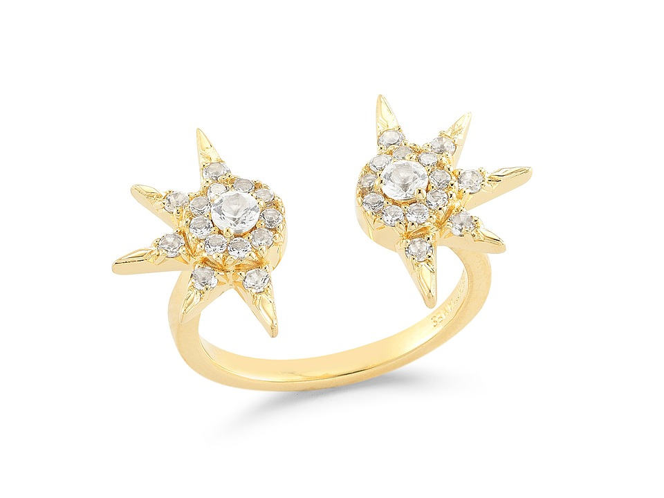 Elizabeth and James - Rigel Ring (Yellow Gold) Ring