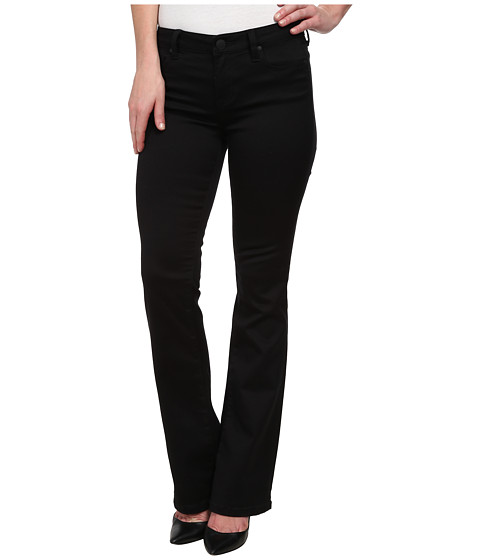 Liverpool - Kimberly Purely Black Pull-On Bootcut (Black) Women's Jeans