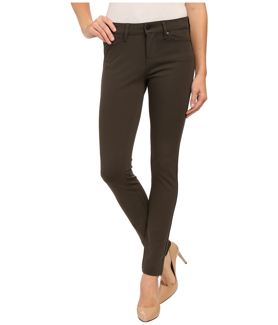 Liverpool - Madonna Ponte Five-Pocket Legging (Black Olive Green) Women's Clothing
