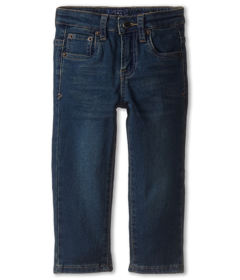 Lucky Brand Kids - Ultra Soft Denim (Toddler) (Blue Wash) Boy's Jeans