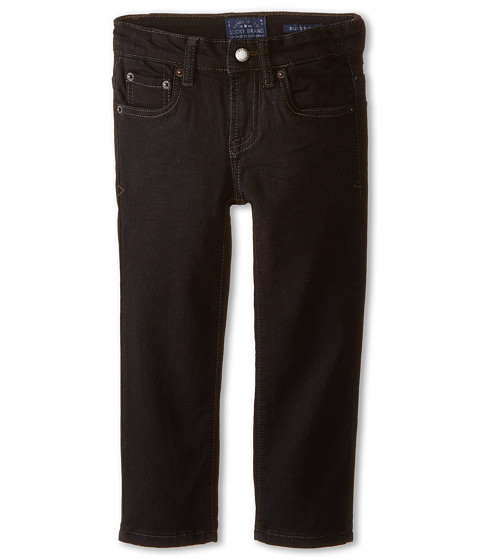 Lucky Brand Kids - Ultra Soft Denim (Little Kids/Big Kids) (Black Wash) Boy's Jeans