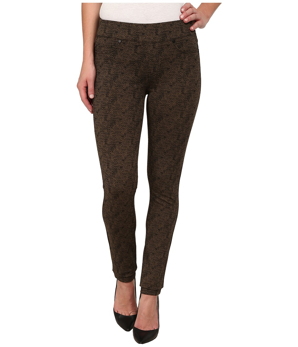 Liverpool - Sienna Pull-On Herringbone Leggings (Cub Brown/Black) Women's Jeans