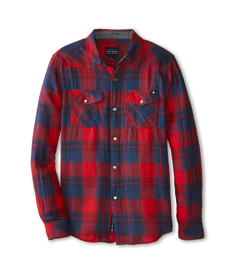 Lucky Brand Kids - Locknut Western (Big Kids) (Formula) Boy's Clothing