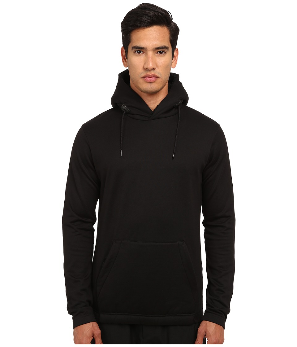 adidas Y-3 by Yohji Yamamoto - Sherpa Hoodie (Black/Night Grey) Men's Sweatshirt
