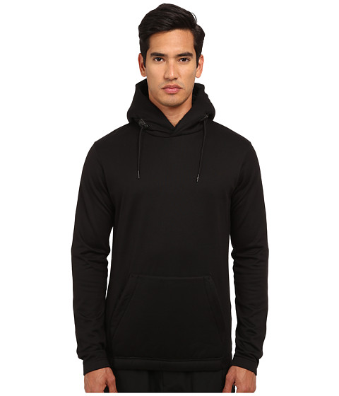 adidas Y-3 by Yohji Yamamoto - Sherpa Hoodie (Black/Night Grey) Men