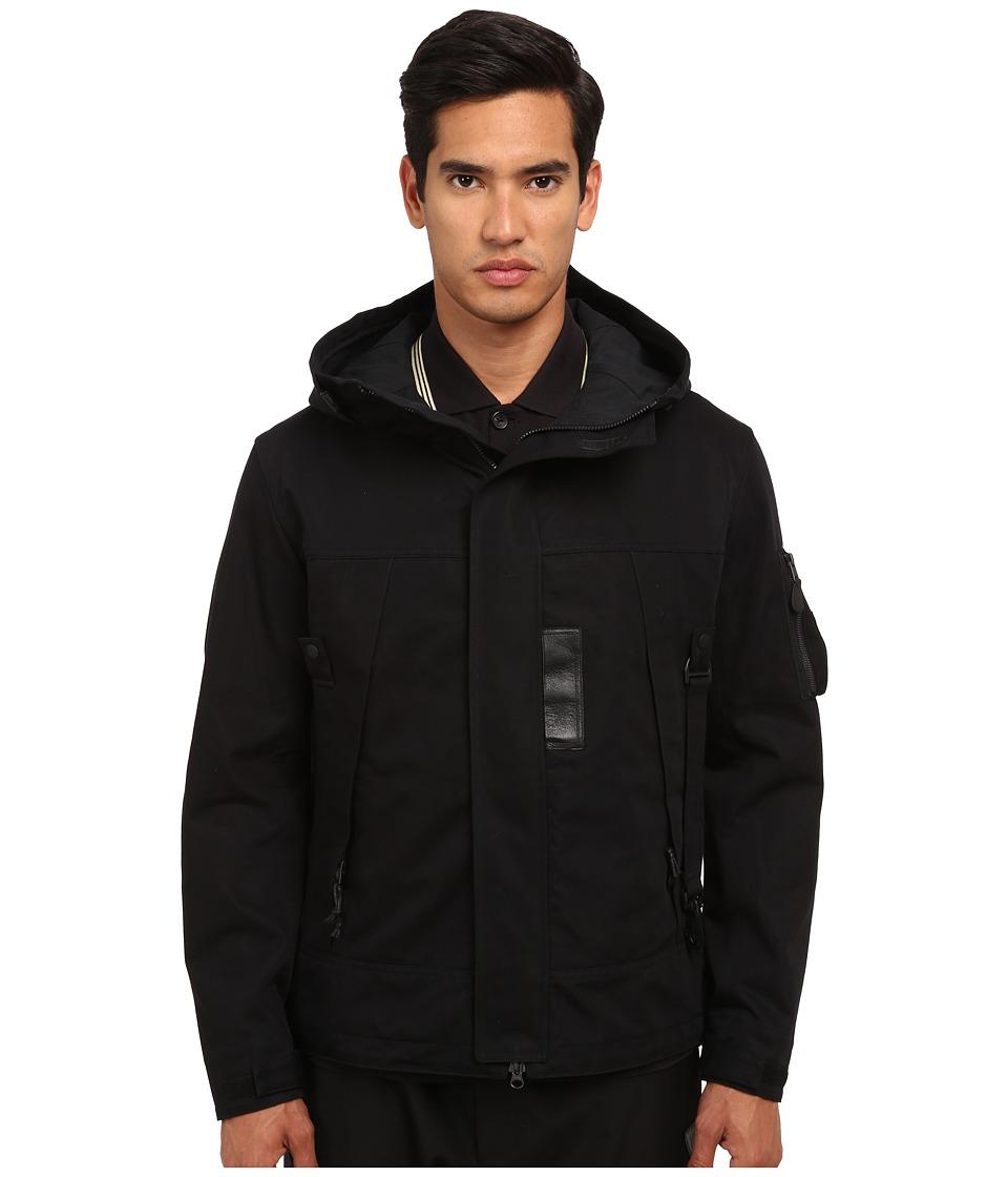 adidas Y-3 by Yohji Yamamoto - Jet Parka (Black) Men's Coat