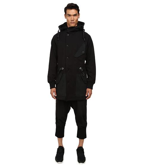 adidas Y-3 by Yohji Yamamoto - Ripcord Parka (Black) Men's Coat