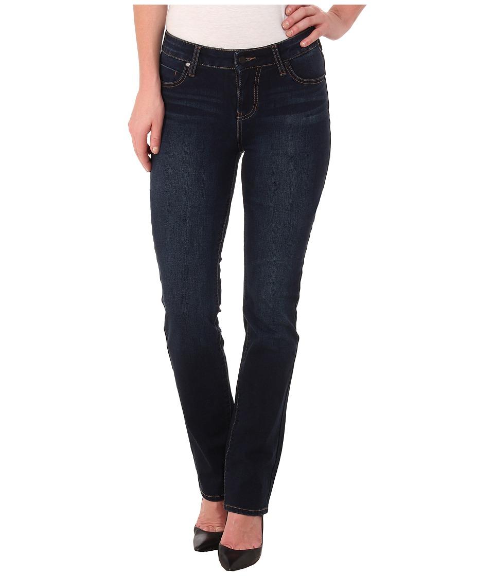 Liverpool - Contour Shaper Sadie Straight (Cleveland Dark Blue) Women's Jeans