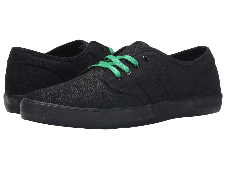 Macbeth - Langley (Black/Black) Men's Skate Shoes
