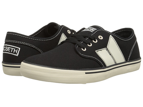 Macbeth - Langley (Black/Cement) Men's Skate Shoes