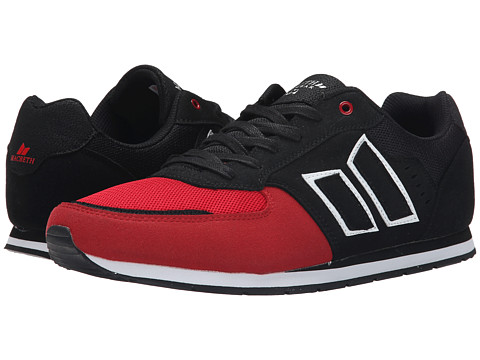 Macbeth - Fischer (Black/Red) Men's Skate Shoes
