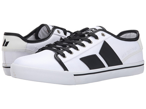 Macbeth - James (White/Black) Men's Skate Shoes