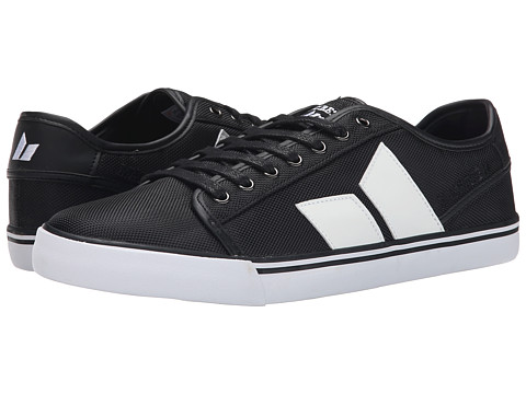 Macbeth - James (Black/White) Men's Skate Shoes
