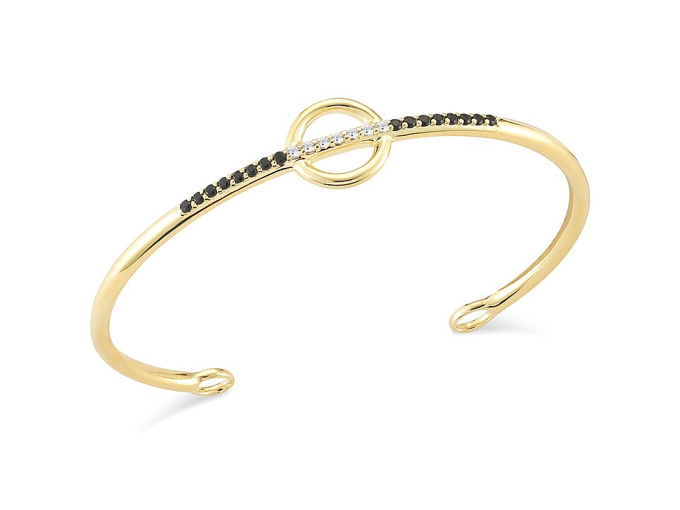 Elizabeth and James - Aloba Bangle Bracelet (Yellow Gold) Bracelet