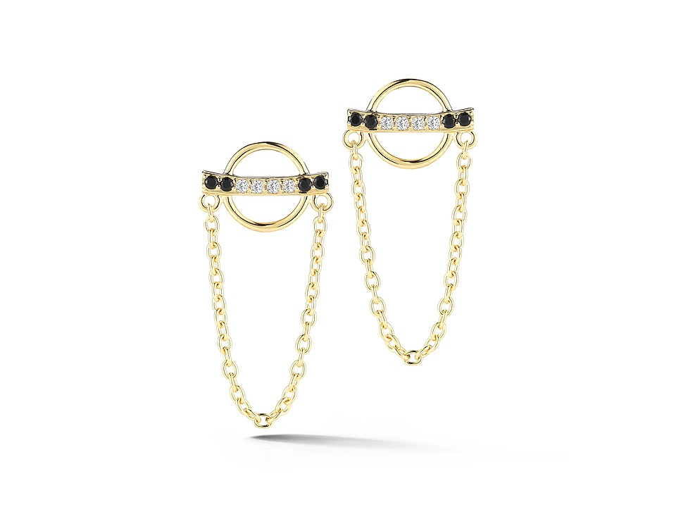 Elizabeth and James - Renzo Earrings (Yellow Gold) Earring