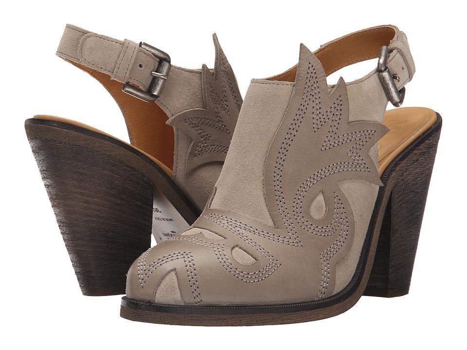 MM6 Maison Margiela - Western Bootie (Gray/Gray) Women's Boots