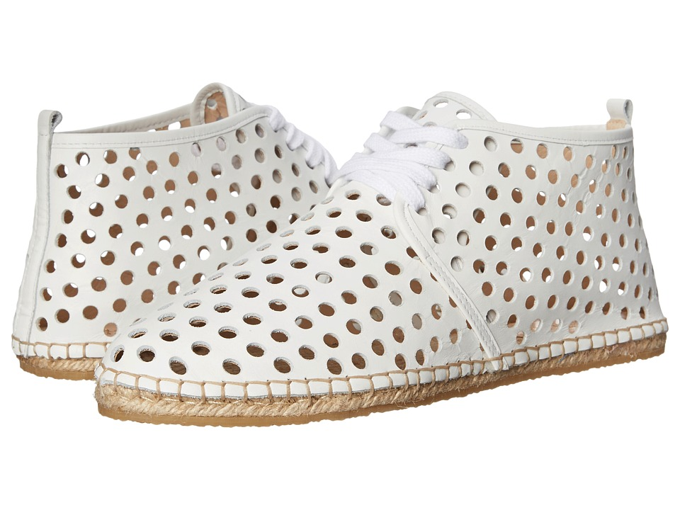 Loeffler Randall Miki (White Perforated Nappa) Women