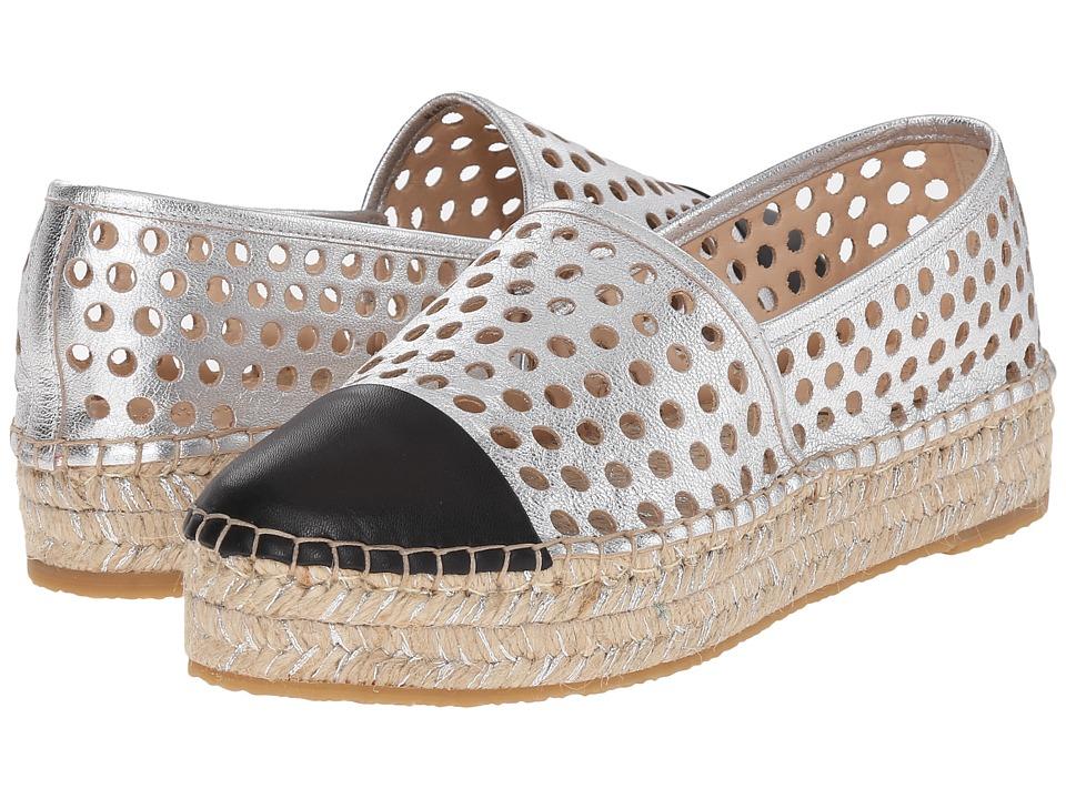 Loeffler Randall - Mariko (Silver/Black/Silver Nappa) Women's Shoes
