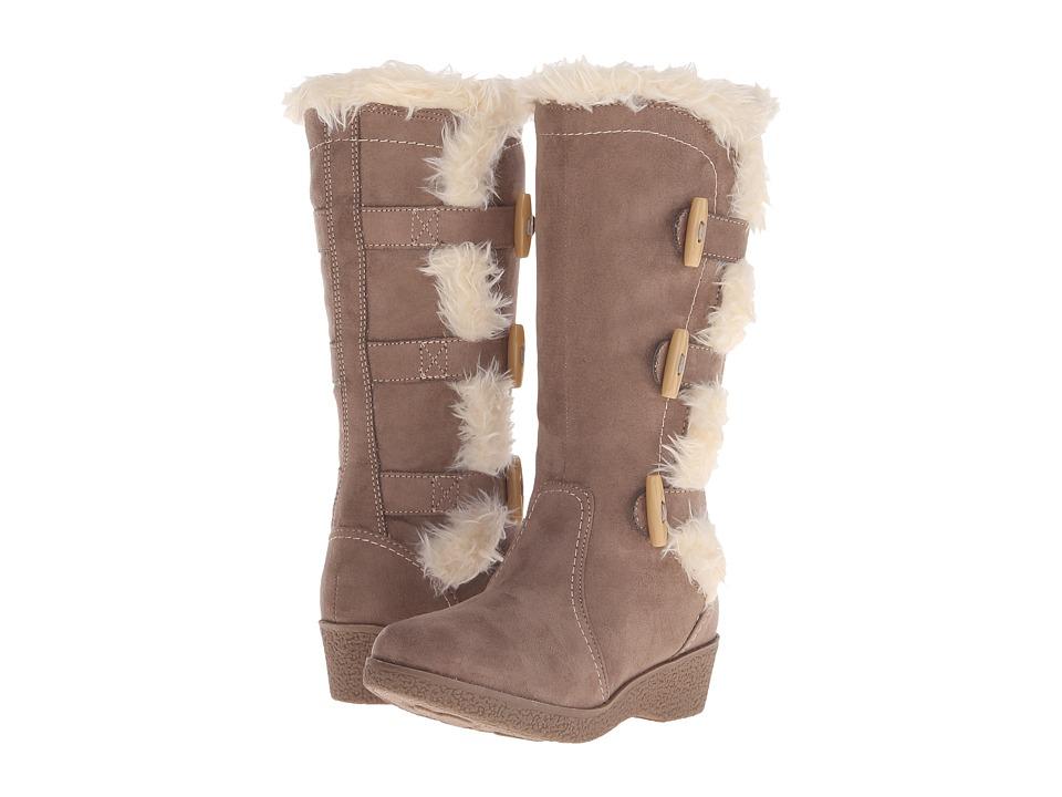 Nine West Kids - Diva Girl (Little Kid/Big Kid) (Stone) Girls Shoes