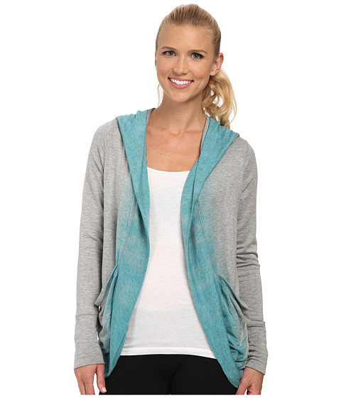 Pink Lotus - Color Me Ombre Lounge About Wrap (Light Teal) Women