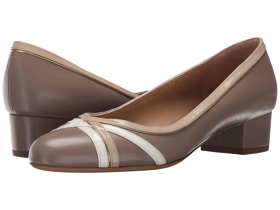 Salvatore Ferragamo - Gamy (Nutmeg Rubens Calf) Women's 1-2 inch heel Shoes