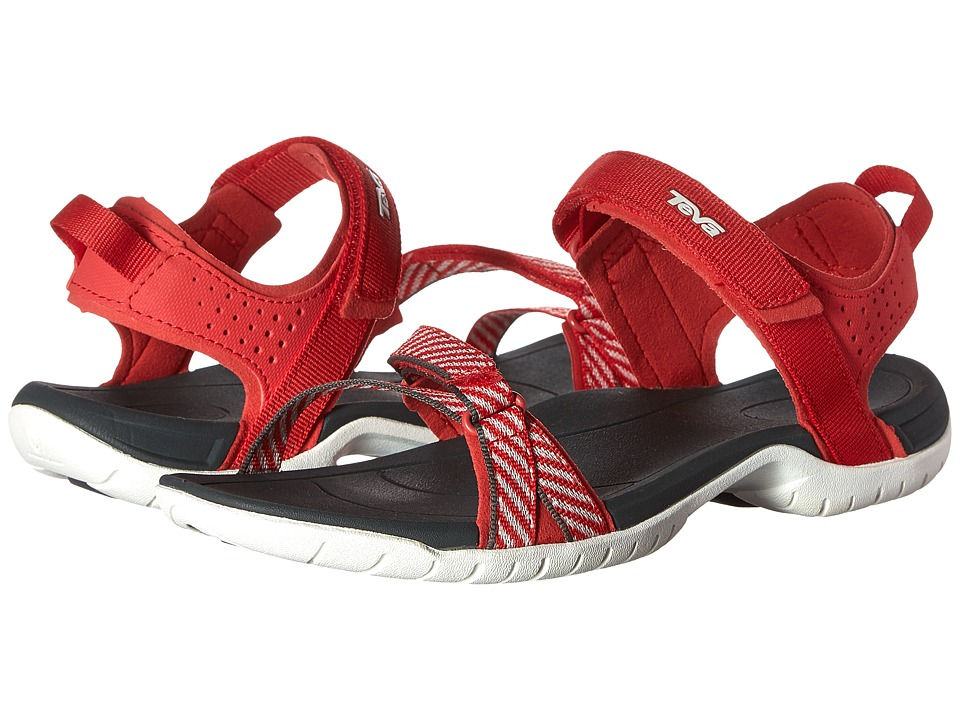 Teva - Verra (Blanket Stripes Red) Women's Sandals