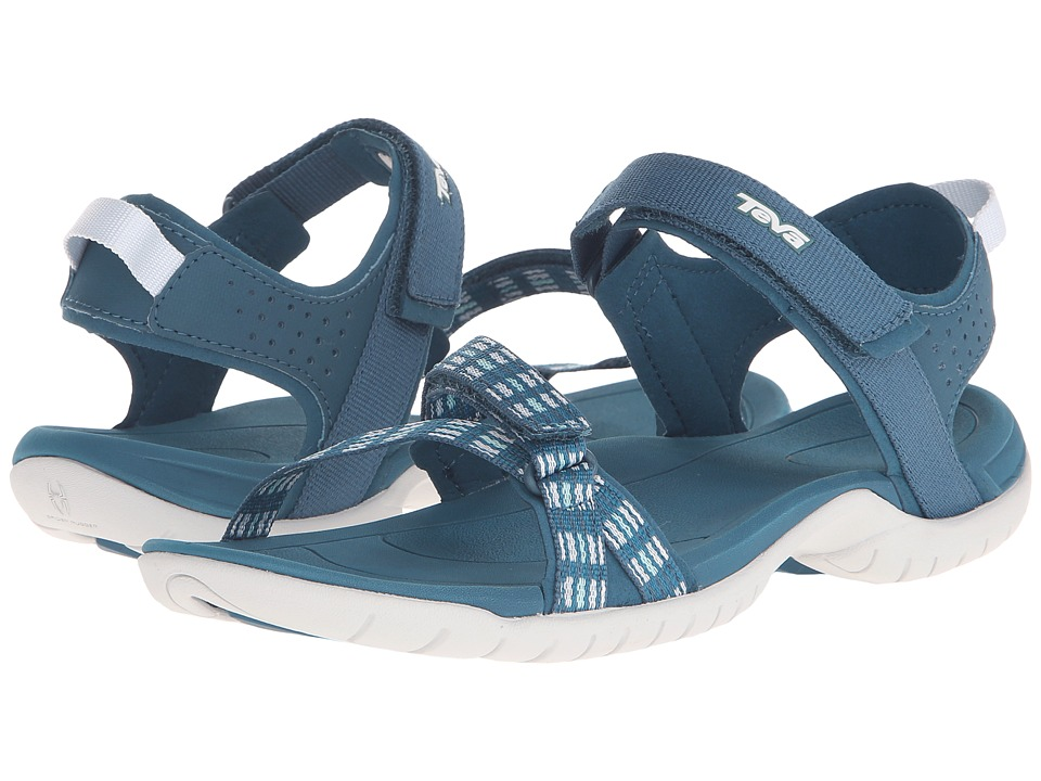 Teva - Verra (Modern Stripes Blue) Women's Sandals