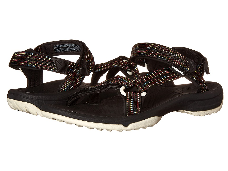 Teva - Terra Fi Lite (City Lights Black Multi) Women's Sandals