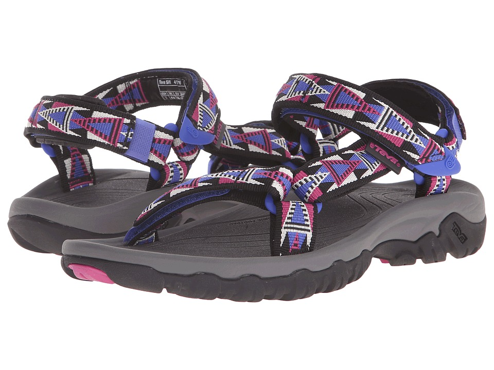 Teva - Hurricane XLT (Mosaic Black/Magenta) Women's Sandals