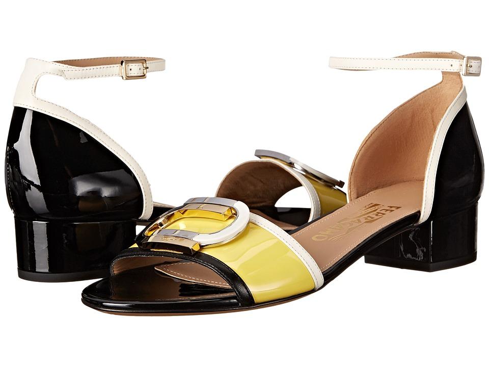 Salvatore Ferragamo - Glenn (Mimosa Patent) Women's Sandals