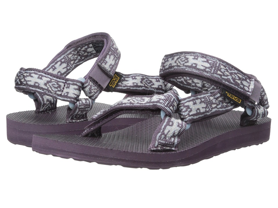 Teva Original Universal (Old Lizard Plum) Women
