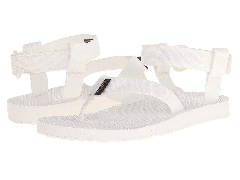 Teva Original Sandal (Solid White) Women