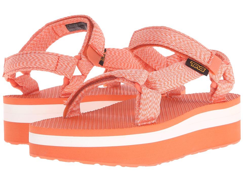 Teva - Flatform Universal (Marled Coral) Women's Sandals