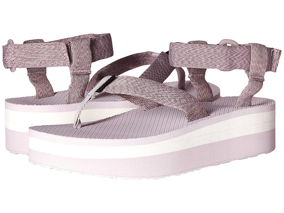 Teva Flatform Sandal (Marled Orchid) Women