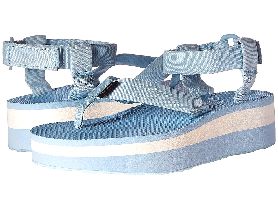 Teva Flatform Sandal (Marled Blue) Women