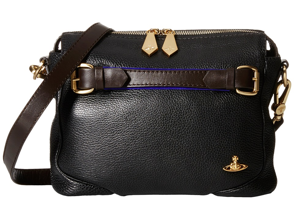 Vivienne Westwood - Small Crossbody (Black) Cross Body Handbags