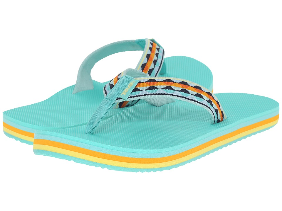 Teva - Deckers Flip (Magical Leaves Ocean Wave) Women's Sandals