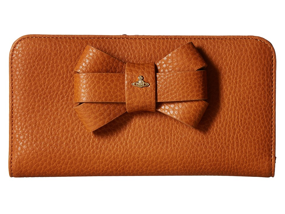 Vivienne Westwood - Bow Wallet (Tan) Wallet Handbags