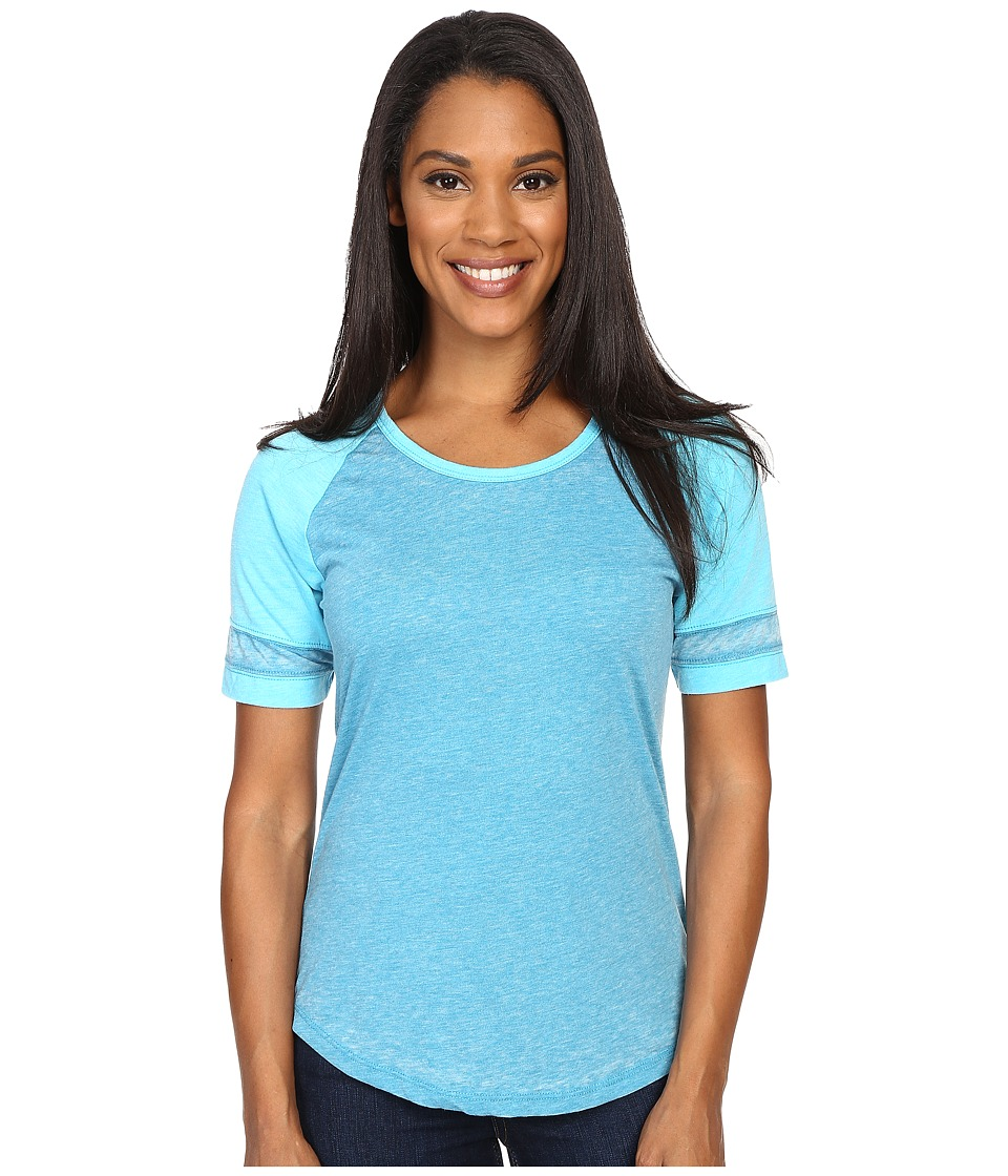 Prana - Cleo Tee (Cove) Women's Short Sleeve Pullover