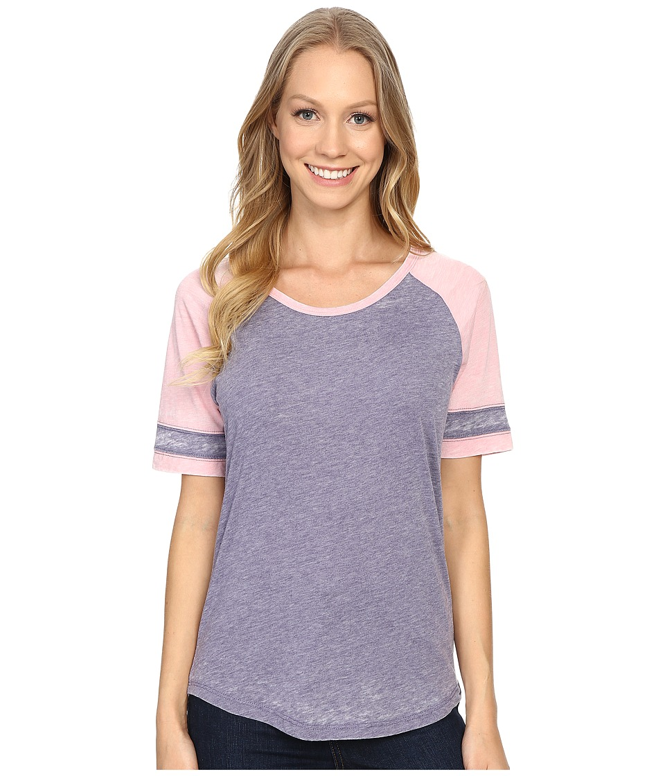 Prana - Cleo Tee (Purple Fog) Women's Short Sleeve Pullover
