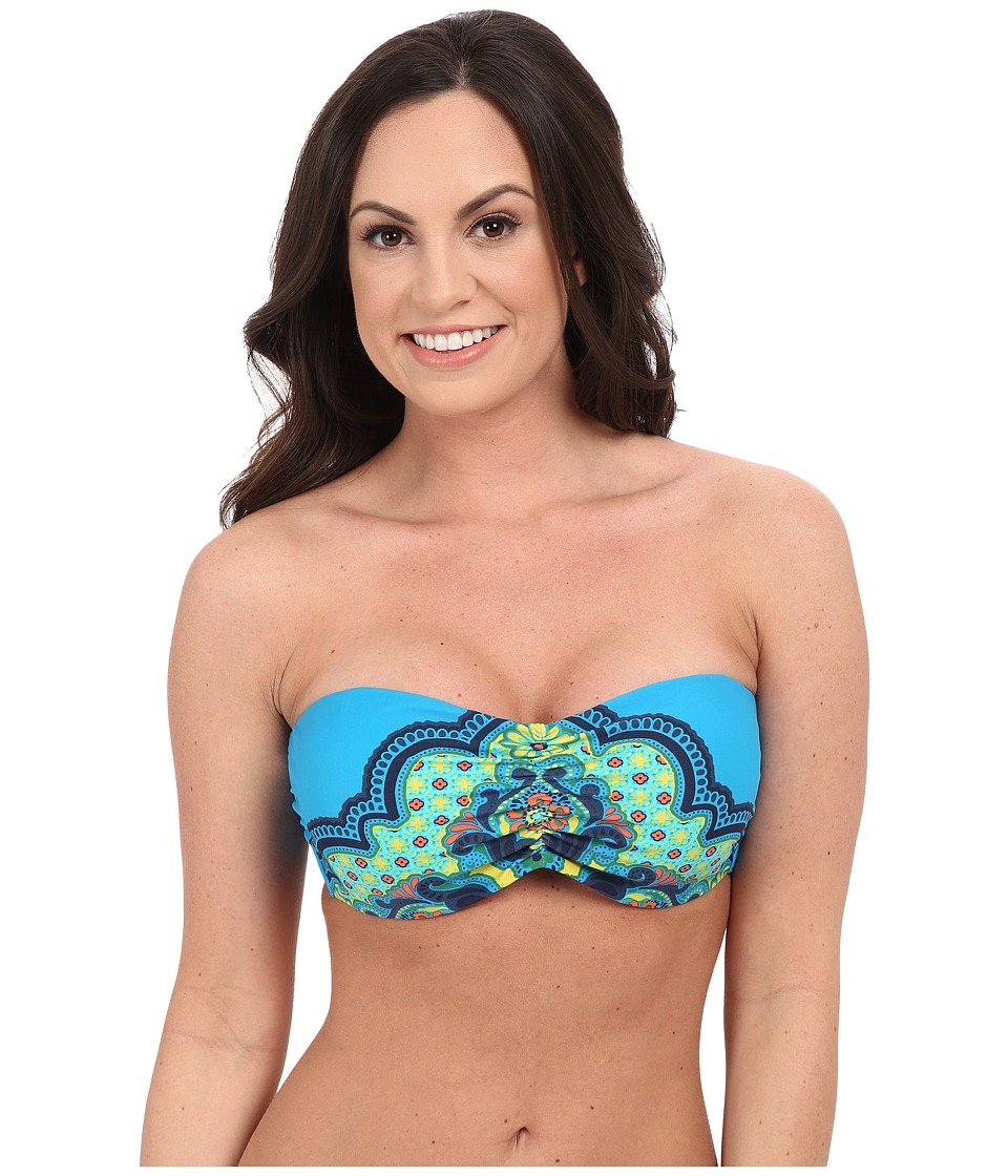 Prana - Cosima D-Cup Top (Vivid Blue Jasmine) Women's Swimwear