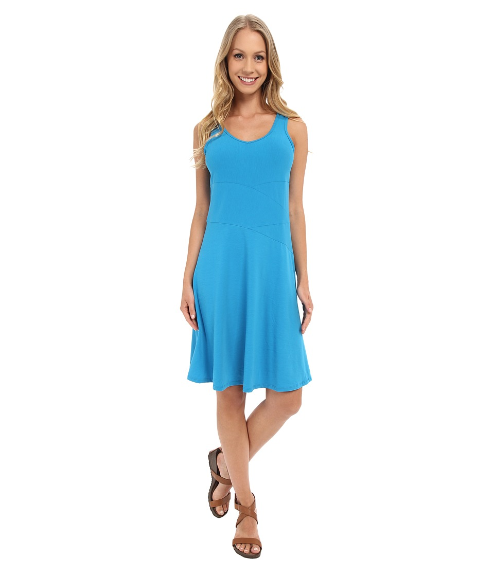 Prana Amelie Dress (Electro Blue) Women