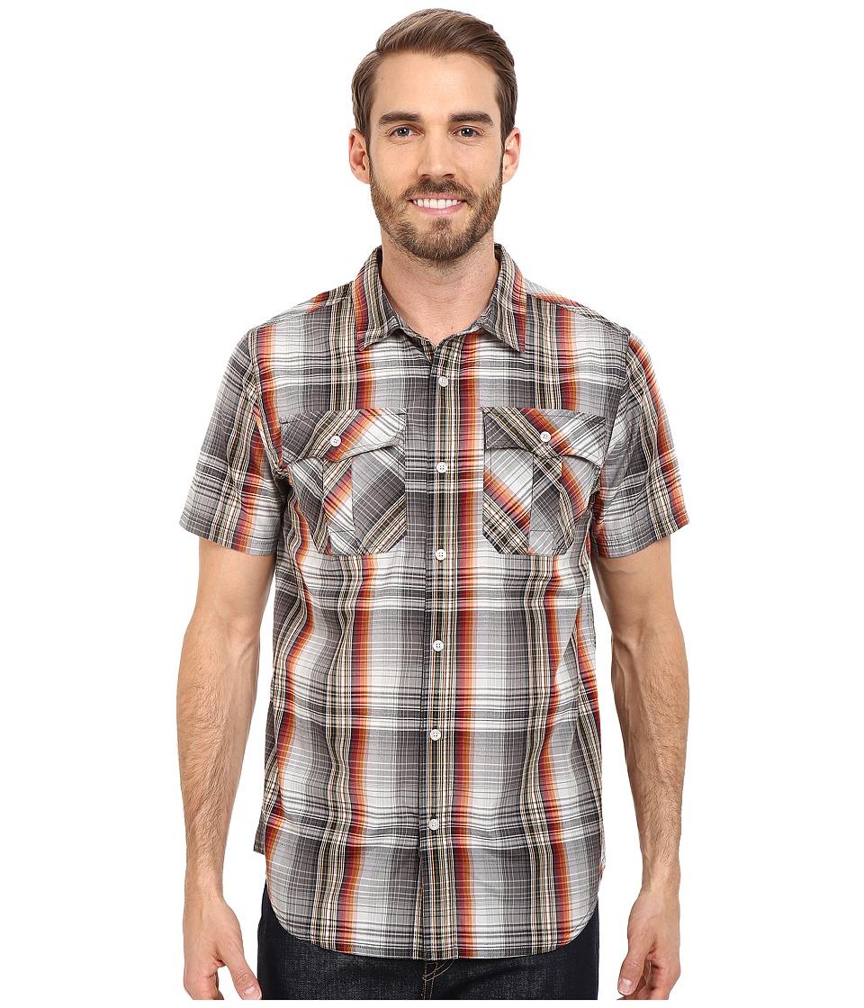 Prana - Ostend (Gravel) Men's Short Sleeve Button Up
