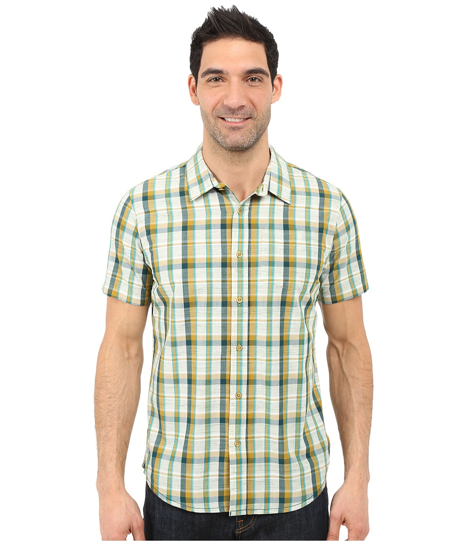Prana - Tamrack (Deep Teal) Men's Short Sleeve Button Up