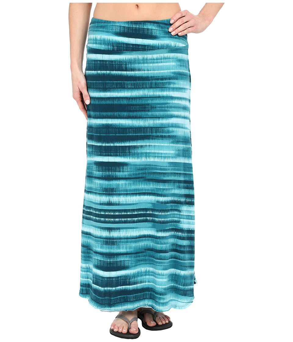 Prana Kendra Skirt (Retro Teal) Women