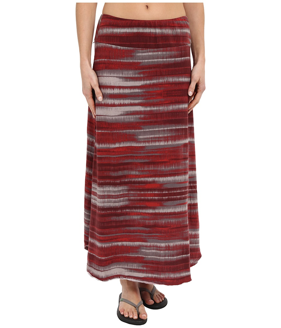 Prana - Kendra Skirt (Sunwashed Red) Women's Skirt